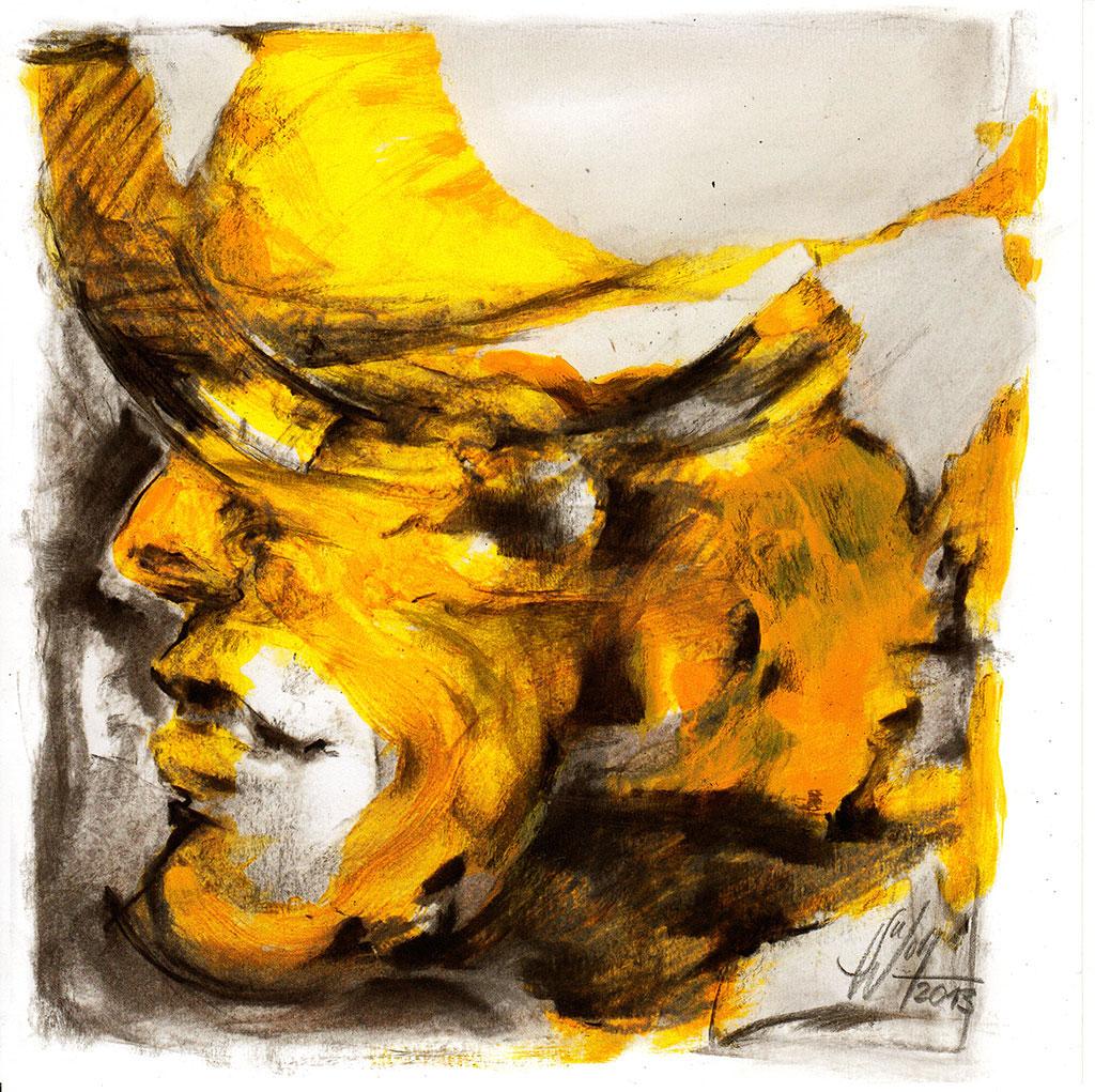 Strom der Gedanken Bilder Malerei und Zeichnung