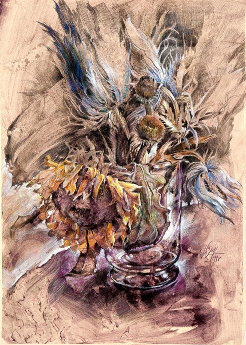 Herbstzeit Bilder Malerei und Zeichnung