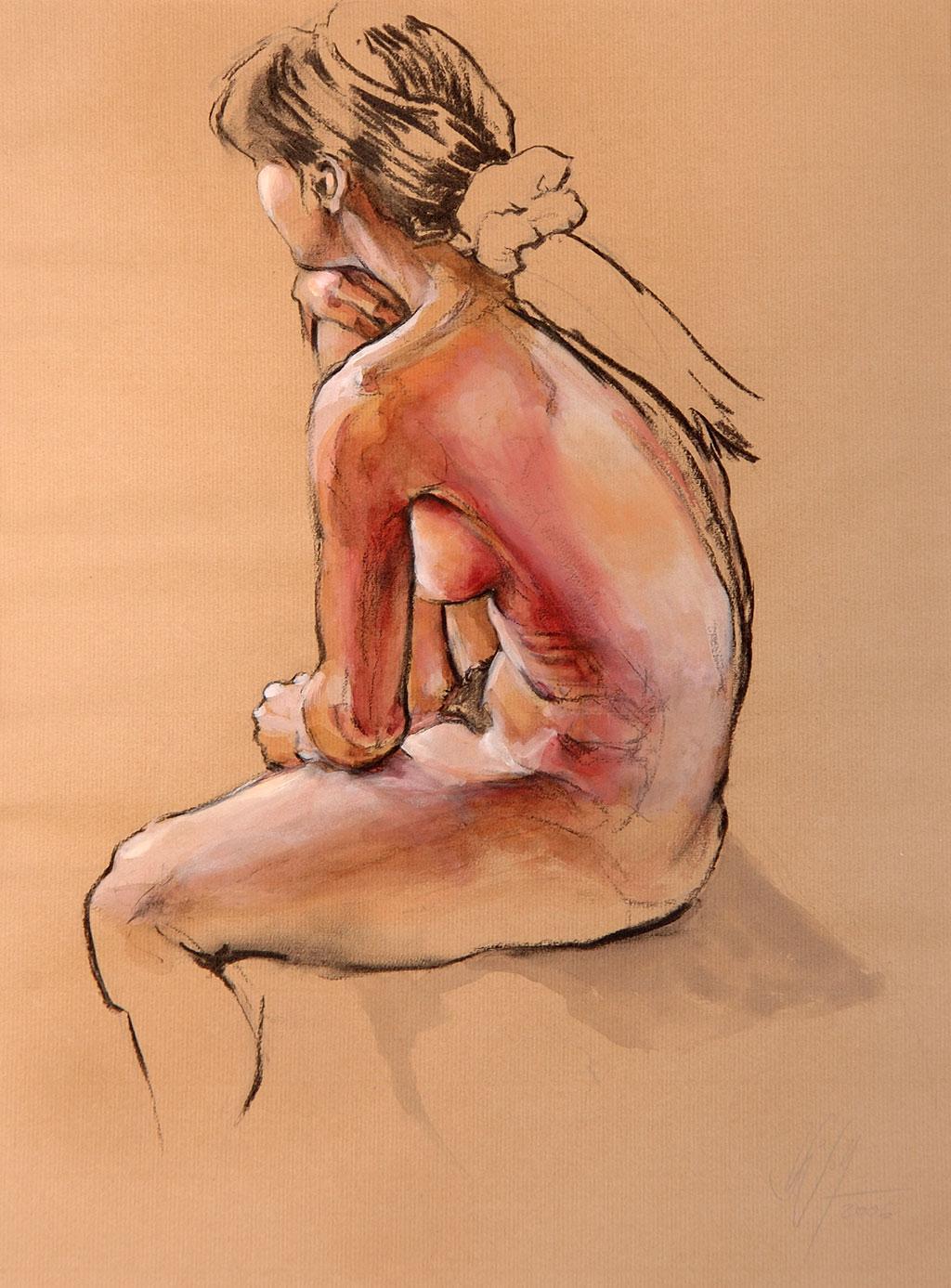 Im Licht Bilder Freie Arbeit Malerei und Zeichnung