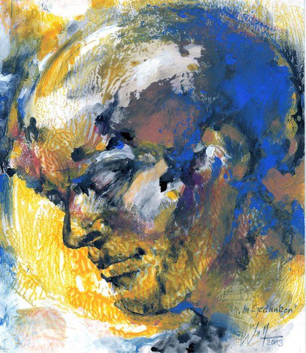 In Gedanken Bilder Malerei und Zeichnung