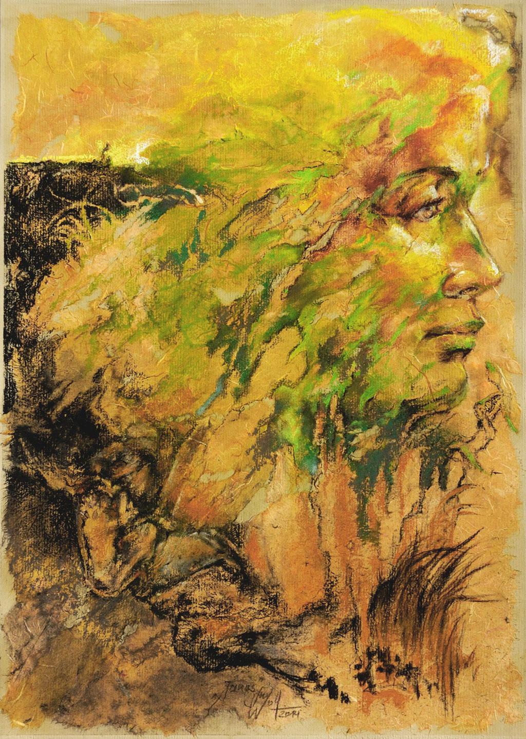 Janus Bilder Malerei und Zeichnung