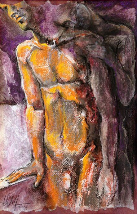 Licht und Schatten Bilder Freie Arbeit Malerei und Zeichnung