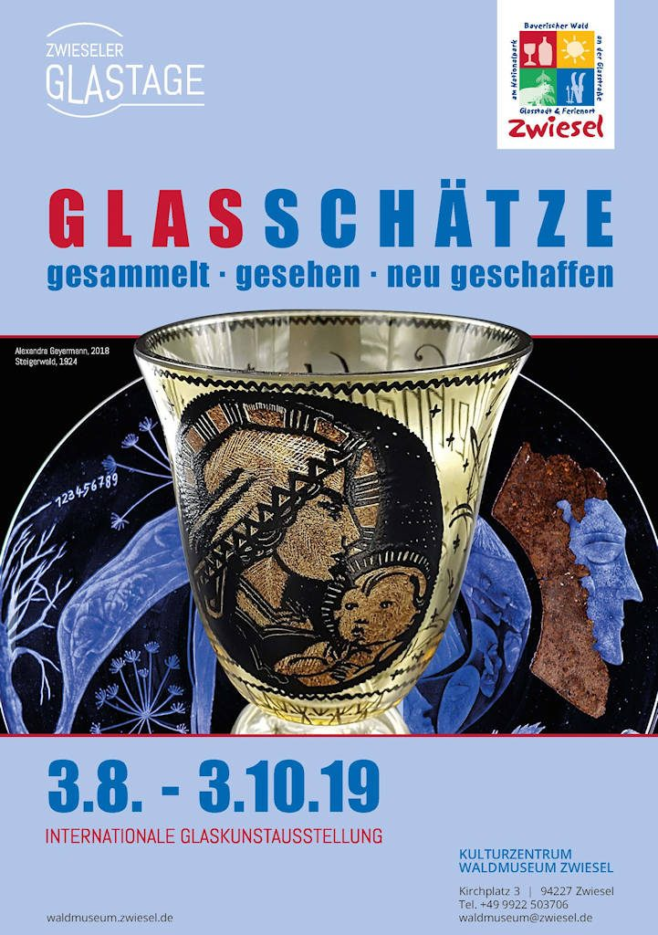 GLASSCHÄTZE gesammelt - gesehen - neu geschaffen Ausstellung