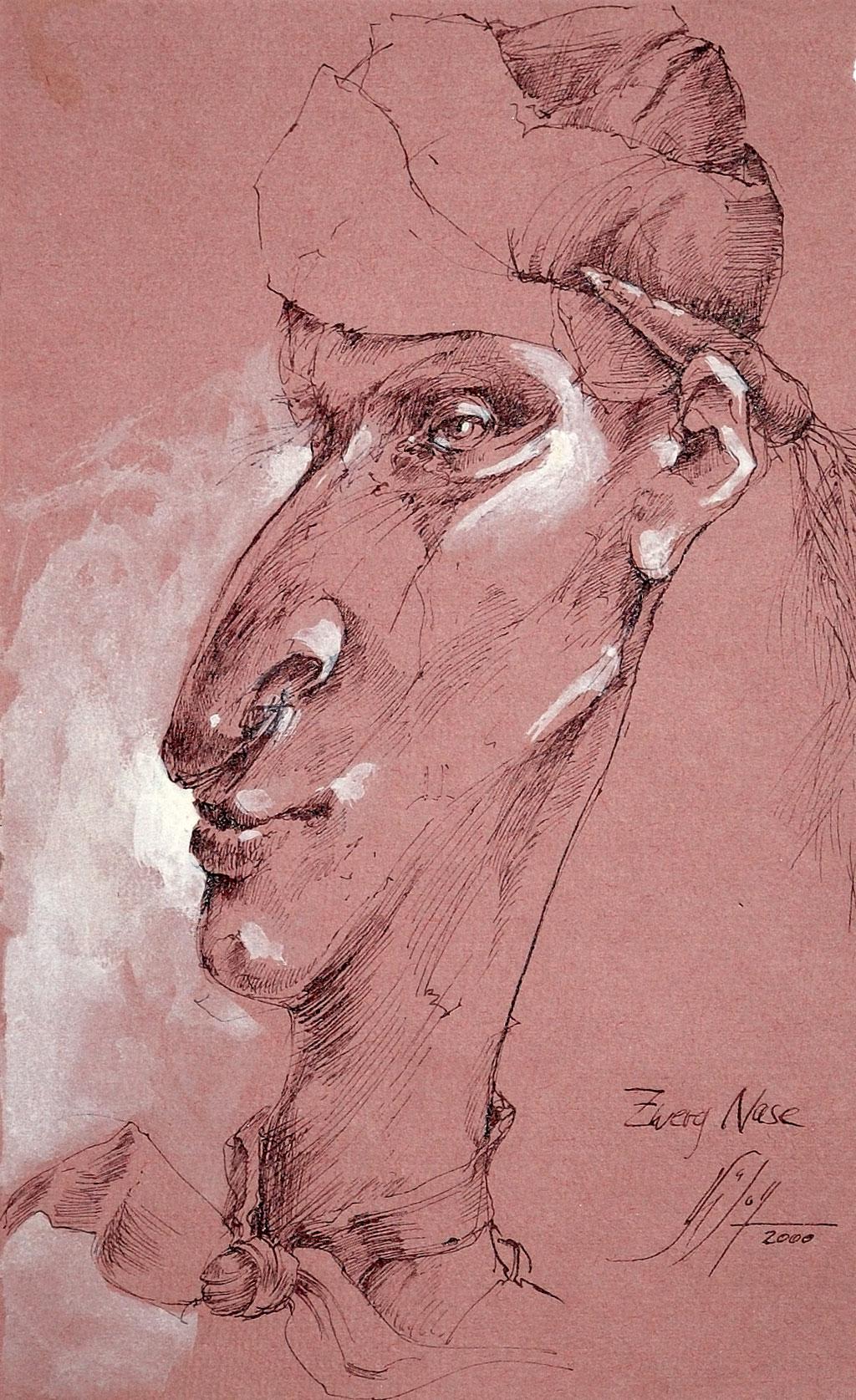 Zwerg Nase Bilder Malerei und Zeichnung