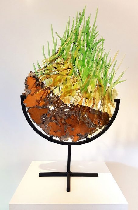 Über alles wächst Gras Freie Arbeit Glasobjekte Schönes Glas für Ihr Zuhause Skulpturen