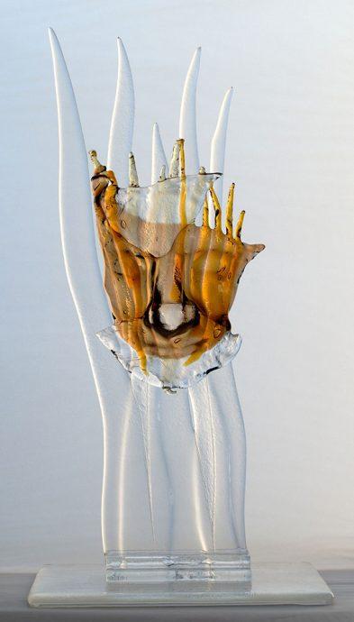 Pan Freie Arbeit Glasobjekte Skulpturen